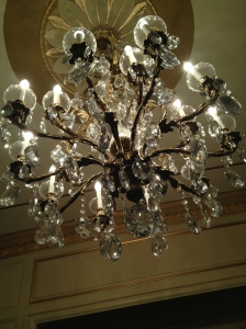Great Lakes Theater Chandelier