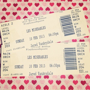 Les' Miserables Tickets