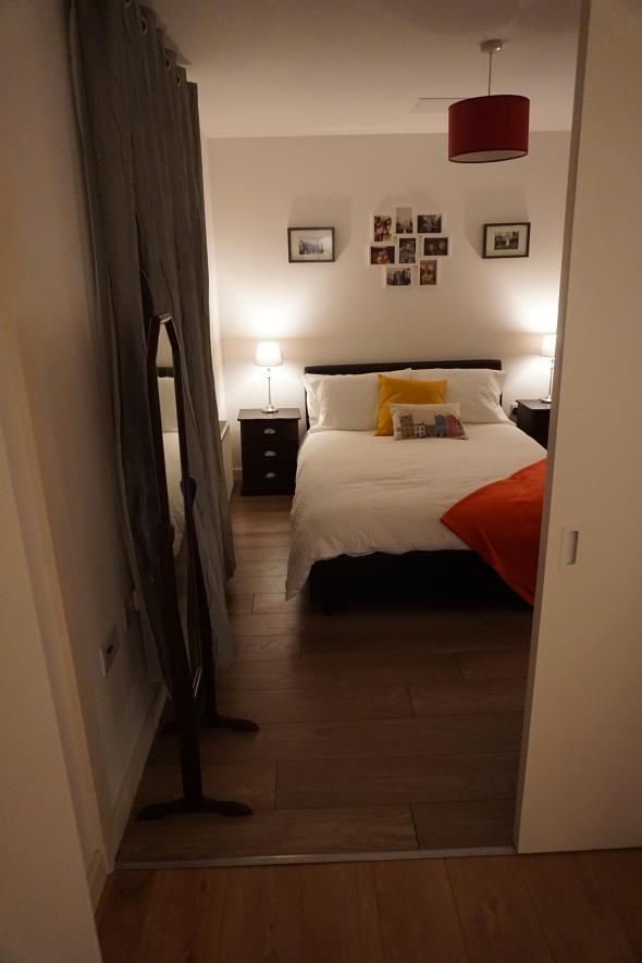 bedroom from LR