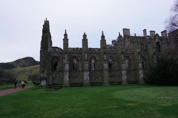 exterior abbey